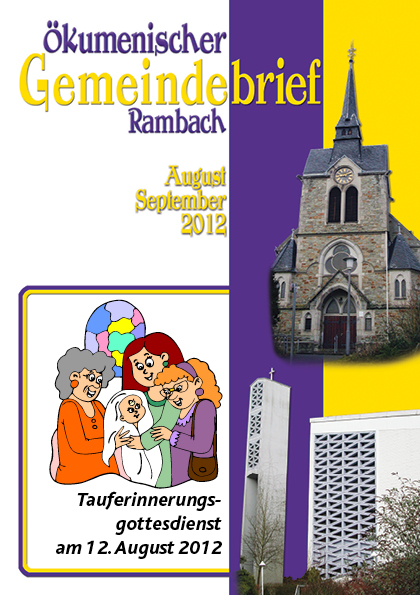 Gemeindebrief Rambach 2012 August+September