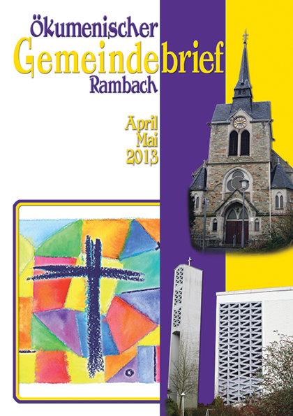 Gemeindebrief Rambach 2013 April+Mai