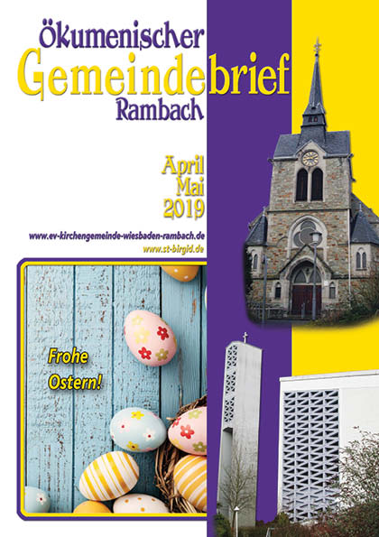 Gemeindebrief Rambach 2019 April+Mai