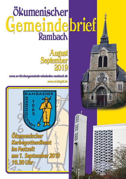 Gemeindebrief Rambach 2019 August+September
